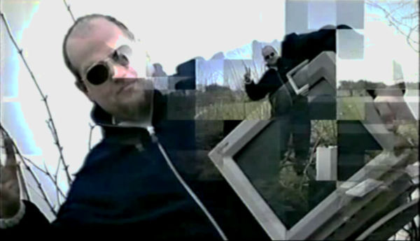 goto YouTube: ''electrohippies' extract from 'Infowars: The Hacktivists' (2001)'